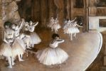 Ballet Rehearsal on the Set, Degas, 1874.jpg